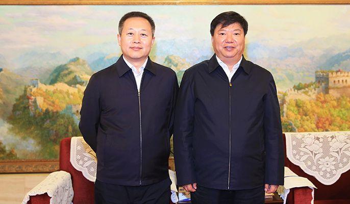guo wenqing meets with zhang enliang, secretary