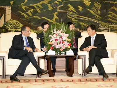Shen Heting Welcomes Chairman & CEO of Morgan Stanley